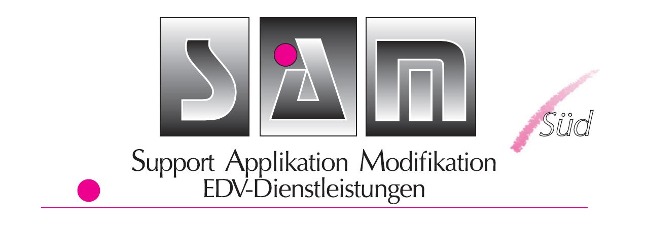 SAM Süd | EDV-Dienstleistungen im Süden von München